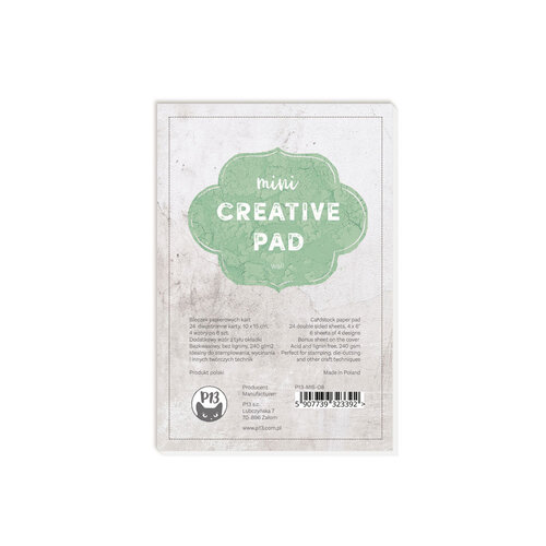 P13 - 4 x 6 Mini Creative Paper Pad - Wall