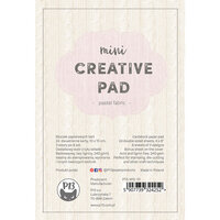 P13 - 4 x 6 Paper Pad - Mini Creative Pad - Pastel Fabric