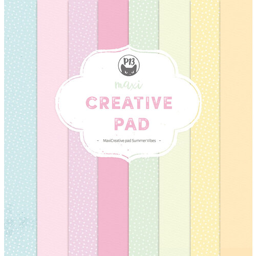 P13 - Summer Vibes Collection - 12 x 12 Paper Pad - Maxi Creative Pad