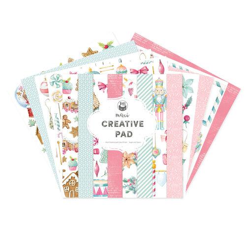 P13 - Cosy Winter Collection - 12 x 12 Paper Pad - Maxi Creative Pad - Sugar and Spice
