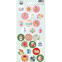 P13 - Cosy Winter Collection - Creative Pad Stickers - Sheet 01