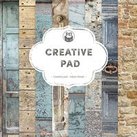 P13 - Good Night Collection - 6 x 6 Paper Pad - Creative Pad - Italian Street