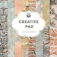 P13 - Good Night Collection - 6 x 6 Paper Pad - Creative Pad - Pastel Walls