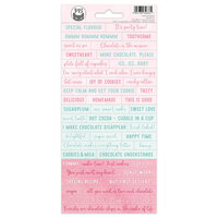 P13 - Sugar and Spice Collection - Cardstock Stickers - Sheet 01
