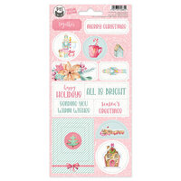 P13 - Sugar and Spice Collection - Chipboard Stickers - Sheet 02