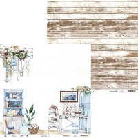 P13 - Beyond the Sea Collection - 12 x 12 Double Sided Paper - 03