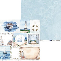 P13 - Beyond the Sea Collection - 12 x 12 Double Sided Paper - 05