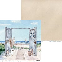 P13 - Beyond the Sea Collection - 12 x 12 Double Sided Paper - 06