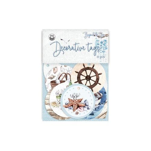 P13 - Beyond the Sea Collection - Tag Set - 01