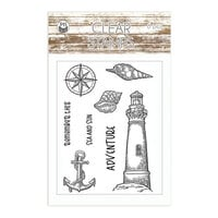 P13 - Beyond the Sea Collection - Clear photopolymer Stamps