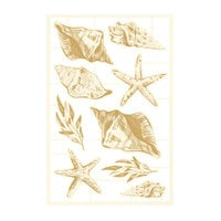 P13 - Beyond the Sea Collection - Chipboard Embellishments - Set 02