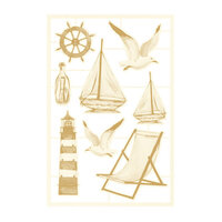 P13 - Beyond the Sea Collection - Chipboard Embellishments - Set 03