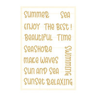 P13 - Beyond the Sea Collection - Chipboard Embellishments - Set 05