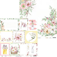 P13 - The Four Seasons Collection - 12 x 12 Double Sided Paper - Spring 05