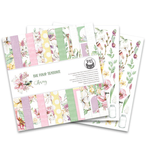 P13 - The Four Seasons Collection - 12 x 12 Spring Paper Pad
