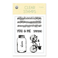 P13 - The Four Seasons Collection - Clear Photopolymer Stamps - Spring