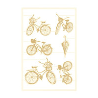 P13 - The Four Seasons Collection - Chipboard Embellishments - Spring Set 03