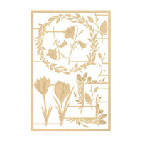 P13 - The Four Seasons Collection - Chipboard Embellishments - Spring Set 04