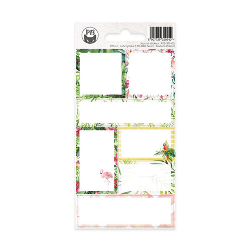 P13 - Planners Collection - Cardstock Stickers - Journal 03
