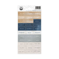P13 - Planners Collection - Cardstock Stickers - Journal 08