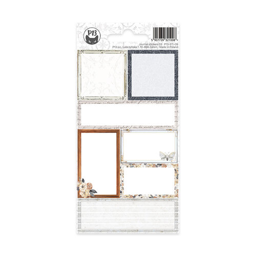 P13 - Planners Collection - Cardstock Stickers - Journal 09