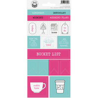 P13 - Cardstock Stickers - Sheet 17