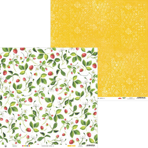 P13 - The Four Seasons Collection - 12 x 12 Double Sided Paper - Summer 01