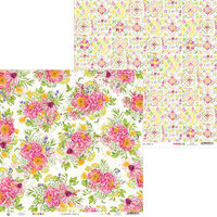P13 - The Four Seasons Collection - 12 x 12 Double Sided Paper - Summer 02