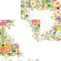 P13 - The Four Seasons Collection - 12 x 12 Double Sided Paper - Summer 04