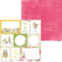 P13 - The Four Seasons Collection - 12 x 12 Double Sided Paper - Summer 05