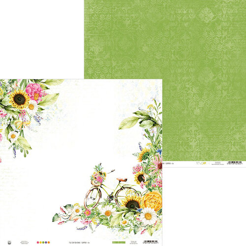 P13 - The Four Seasons Collection - 12 x 12 Double Sided Paper - Summer 06