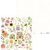 P13 - The Four Seasons Collection - 12 x 12 Double Sided Paper - Summer 07