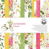 P13 - The Four Seasons Collection - 6 x 6 Paper Pad - Summer