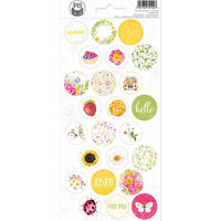 P13 - The Four Seasons Collection - Cardstock Sticker Sheet - Summer 03
