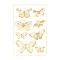 P13 - The Four Seasons Collection - Chipboard Embellishments - Summer Set 02