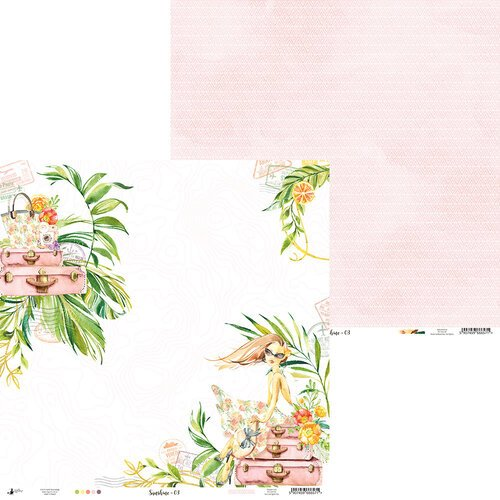 P13 - Sunshine Collection - 12 x 12 Double Sided Paper - 03