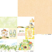 P13 - Sunshine Collection - 12 x 12 Double Sided Paper - 05