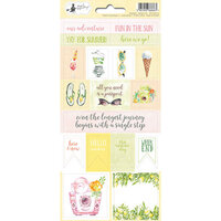 P13 - Sunshine Collection - Cardstock Sticker Sheet - Two