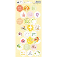 P13 - Sunshine Collection - Cardstock Sticker Sheet - Three