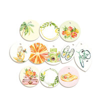 P13 - Sunshine Collection - Embellishments - Tag Set - One