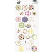 P13 - Stitched with Love Collection - Cardstock Stickers - Sheet 03
