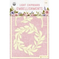 P13 - Stitched with Love Collection - Chipboard Embellishments - Set 05