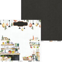 P13 - Around the Table Collection - 12 x 12 Double Sided Paper - 01