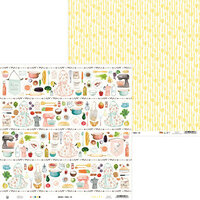 P13 - Around the Table Collection - 12 x 12 Double Sided Paper - 03