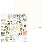 P13 - Around the Table Collection - 12 x 12 Double Sided Paper - 07