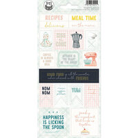 P13 - Around the Table Collection - Cardstock Sticker Sheet - Two