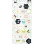 P13 - Around the Table Collection - Cardstock Sticker Sheet - Three