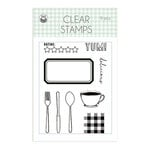 P13 - Around the Table Collection - Clear Photopolymer Stamps