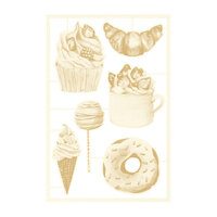 P13 - Around the Table Collection - Chipboard Embellishments - Set 02