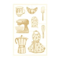 P13 - Around the Table Collection - Chipboard Embellishments - Set 03